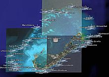 Bermuda Treasure Shipwrecks Map in Google Earth