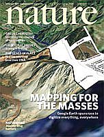Nature Cover Story on Google Earth