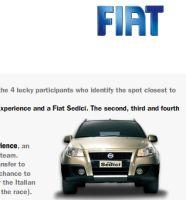 Fiat contest in Google Earth
