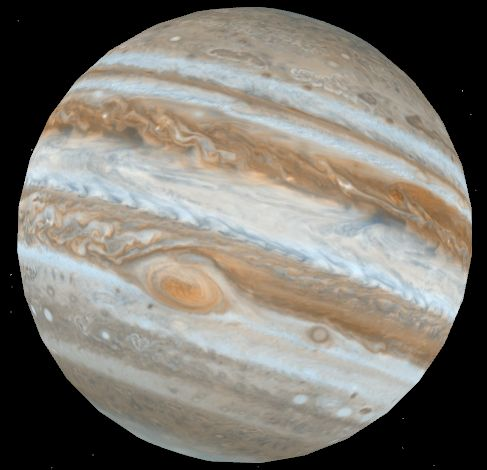 New NASA photo of Jupiter on Google Earth