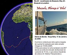 Sailing adventures of Mussulo in Google Earth