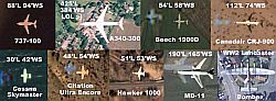 Plane IDs in Google Earth