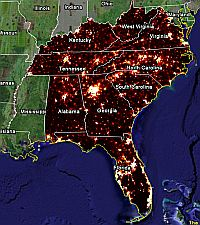 Population Density/Census Maps in Google Earth