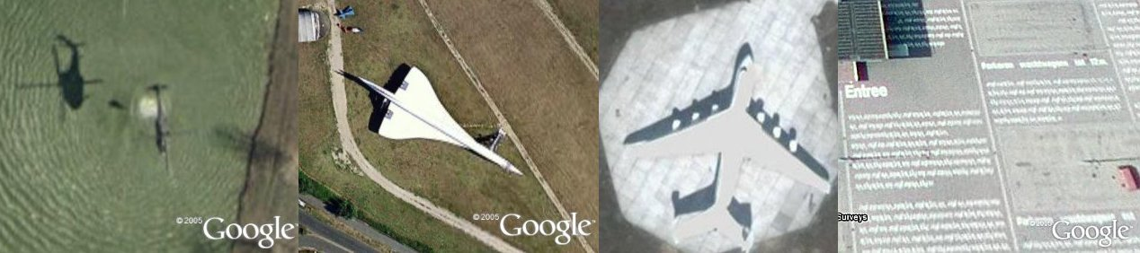 Sightseeing in Google Earth