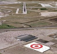 Target Store Roof in Google Earth