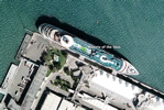Cruise ship Majesty of the Seas in Google Earth