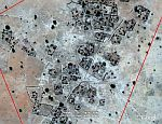 Darfur village in Google Earth