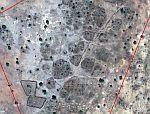 Village destroyed Google Earth