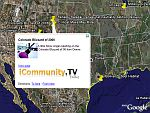 iCommunity.TV youtube news in Google Earth