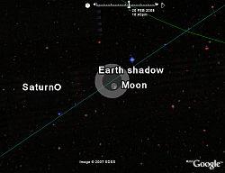 Eclipse Lunar en Google Earth