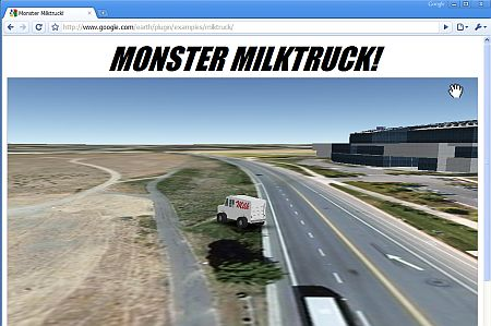 Monster Milktruck on Chrome
