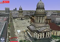 Berlin 3D buildings in Google Earth