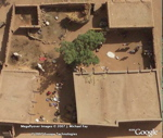Messy Yard in Google Earth