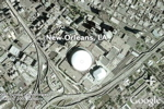 New Orleans in Google Earth