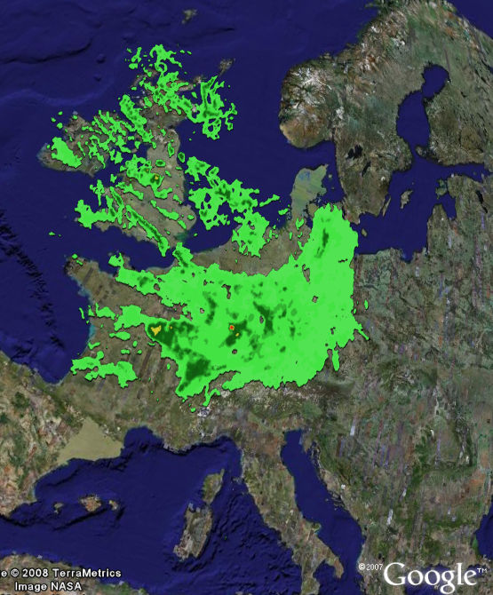 Google Adds More Countries with WEATHER RADAR Layer | Google Earth ...