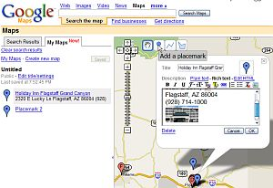 My Maps in Google Maps