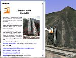 Devil's Slide in Google Earth