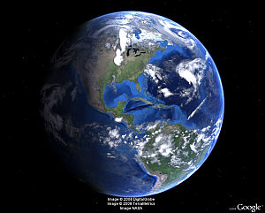 Earth Day in Google Earth