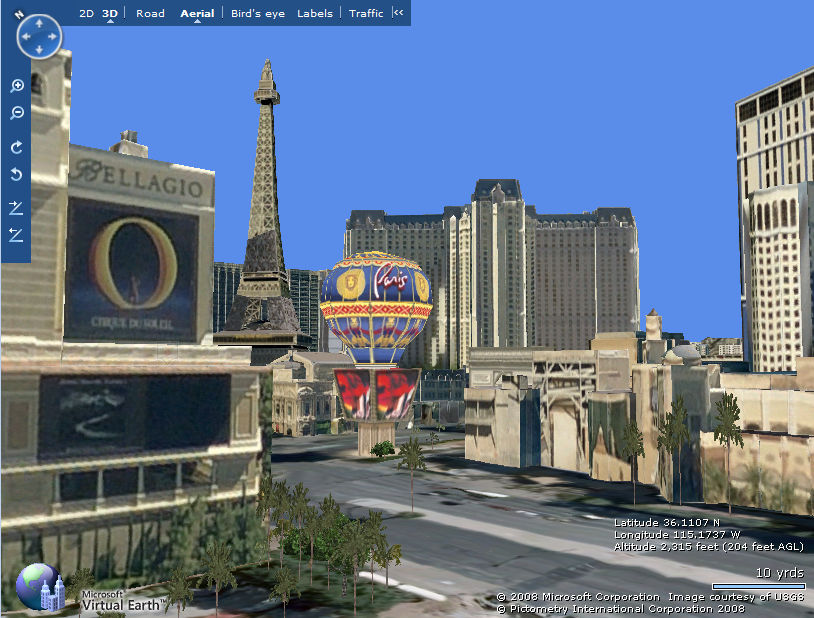 google  virtual earth