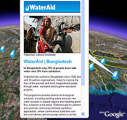 WaterAid  en Google Earth