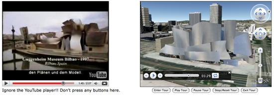 Frank Gehry Video with GE Plugin