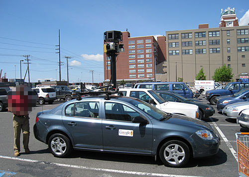 New Google Street View car
