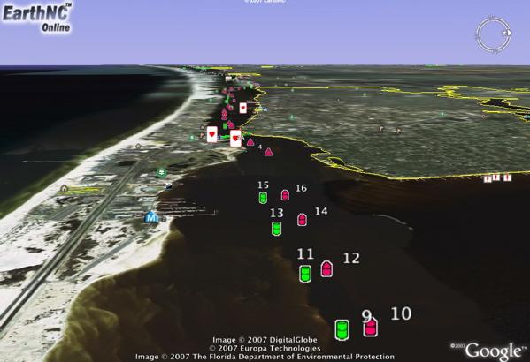 Watch Weekend Boating Live In Google Earth Google Earth Blog - Google earth online