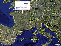 Multi-lingual place names in Google Earth
