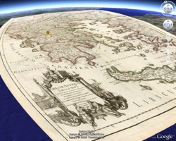 Rumsey Historical Maps in Google Earth