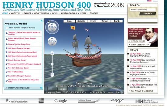 Gemtice 400 me anniversaire de l 39 acquisition de manhattan for Hudson log