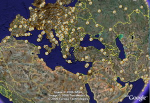Google Analytics in Google Earth