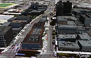 3D Berkeley with Textures in Google Earth