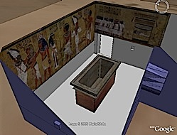 King Tut's Tomb in Google Earth