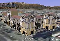 Edificios del Depósito 3Dde Google Earth