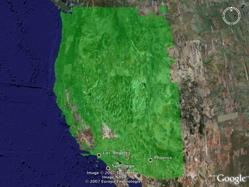 New Terrain Coverage in Google Earth
