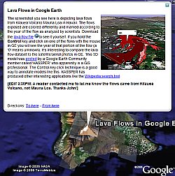 GeoRSS in Google Earth