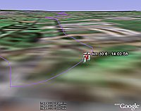 Tour de France in Google Earth
