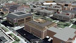 Campus Competition in Google Earth