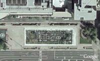 Recursive map - Freedom Plaza - in Google Earth