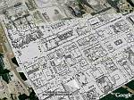 LIDAR imagery of Toronto in Google Earth