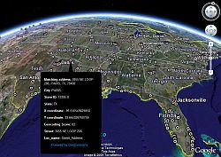 Cierre de 600 Starbucks Cafés en Google Earth