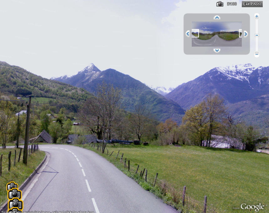 google releases street view for tour de france in google earth maps google earth blog. Black Bedroom Furniture Sets. Home Design Ideas