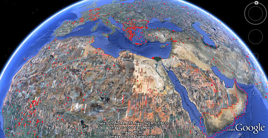 July Google Earth imagery update