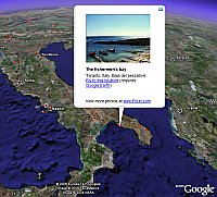 Flickr Photos in Google Earth