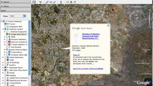 Nueva Capa de Búsqueda de Libros en Google Earth