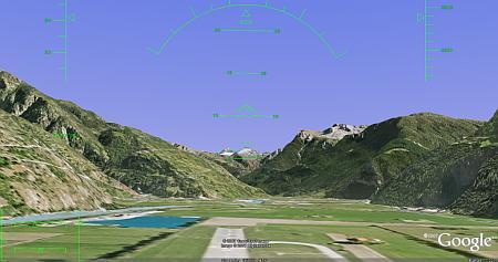 Modo Simulador de Vuelo en Google Earth 4.2