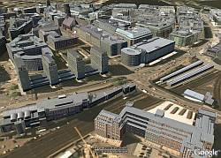 Hamburgo en 3D en Google Earth