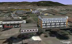 Campus 3D de Temuco Chile 3D en Google Earth