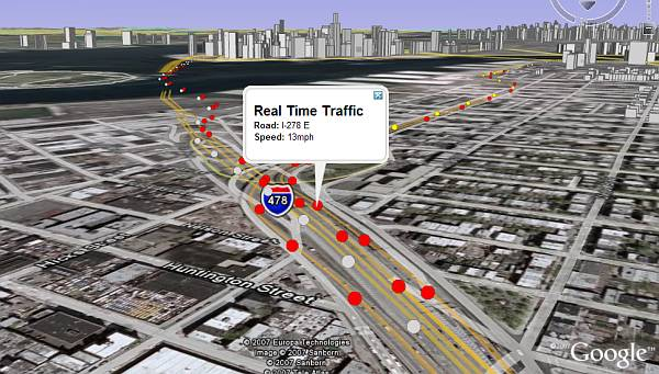 New real time traffic layer in google earth google earth blog real time traffic layer in google earth sciox Image collections
