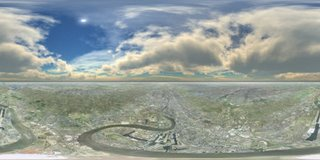 Panorama photo in Google Earth
